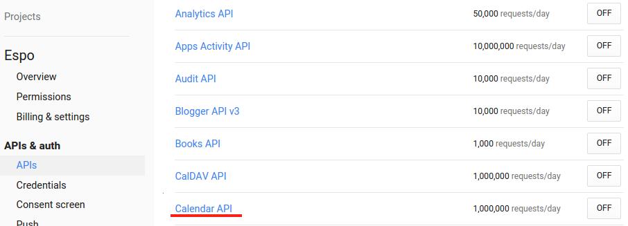 google calendar analytics